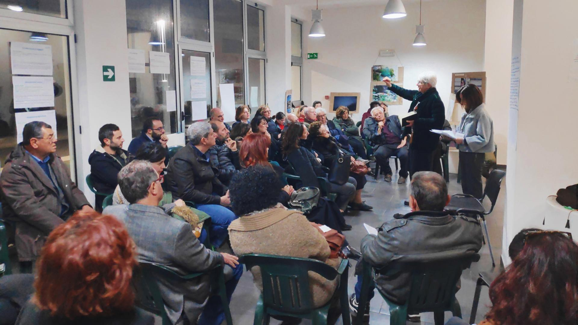 Assemblea pubblica riCALABRIA a Caulonia